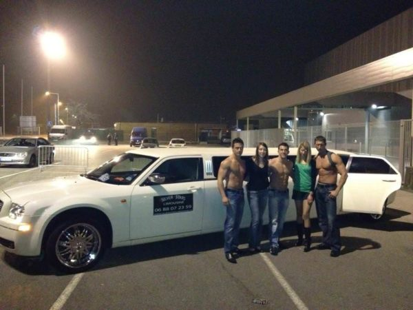 Chippendales en limousine