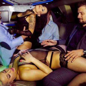 Striptease enterrement de vie de garçon en limousine Vosges